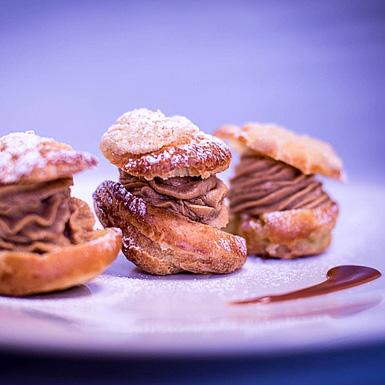 Dessert restaurant gastronomique Coutances